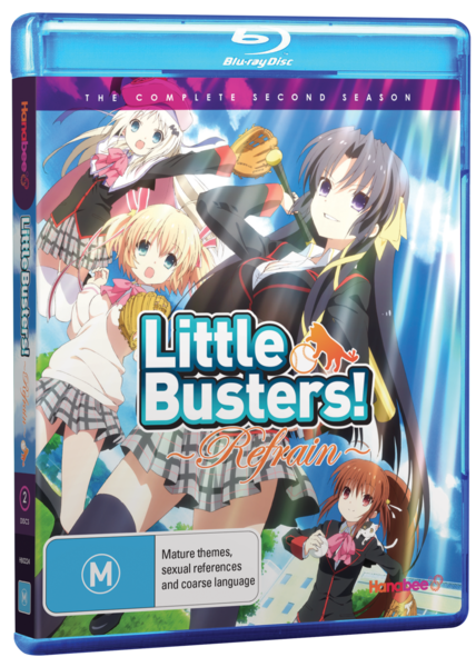 LITTLE BUSTERS REFRAIN (BLU-RAY)