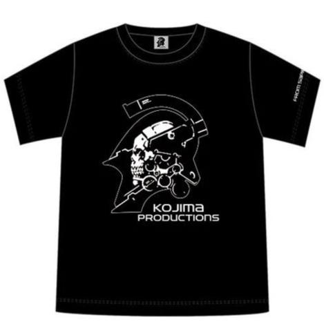 KOJIMA PRODUCTIONS LOGO (WHITE PRINT)