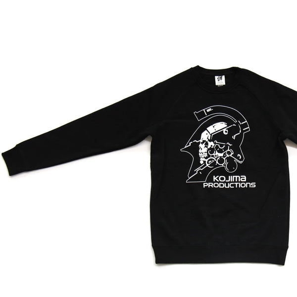 Kojima Productions Black Sweatshirt White Logo