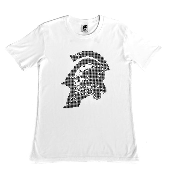 Kojima Productions Black Pixel on White Logo T-Shirt