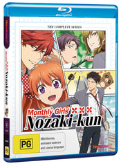 MONTHLY GIRLS NOZAKI-KUN (BLU-RAY) w/Bonus 3 Disc Soundtrack