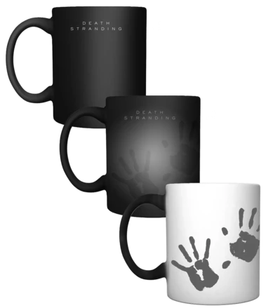 Death Stranding Hands Heat Reactive Mug