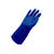 SAFETYWARE Protecto VDR35S - 35cm Blue Double Dipped PVC Fully Coated Gloves