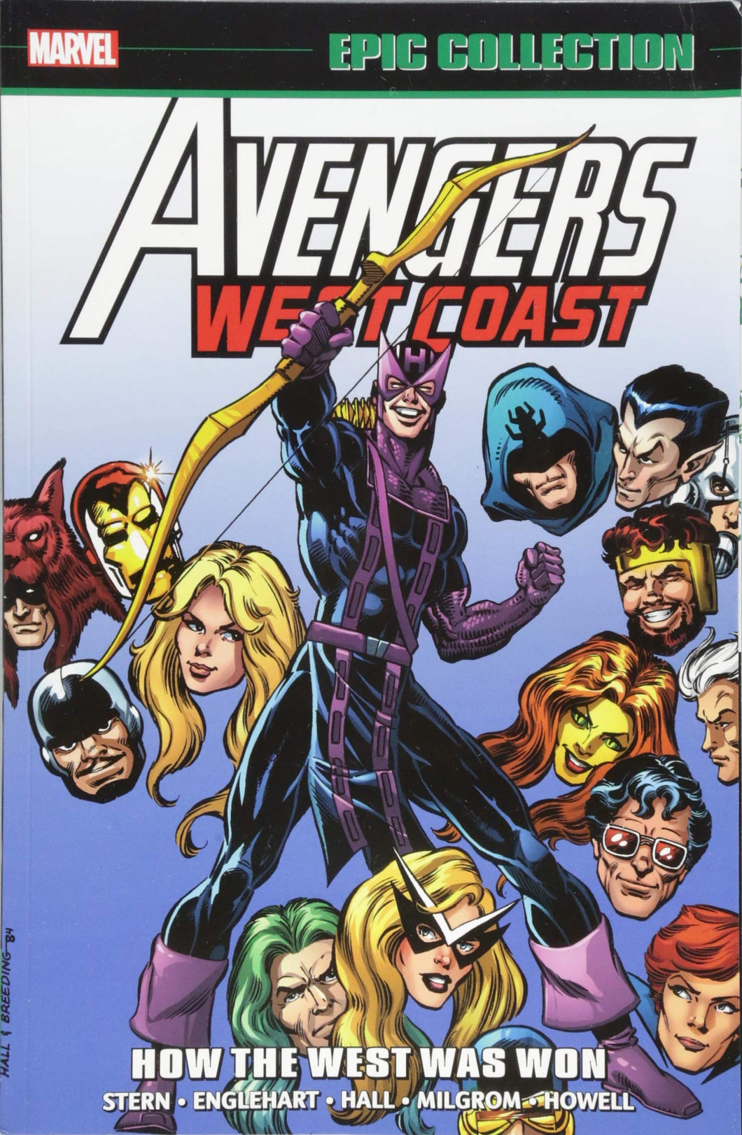 West Coast Avengers Epic Collection Vol 1: How The West Was Won TP *OOP*
