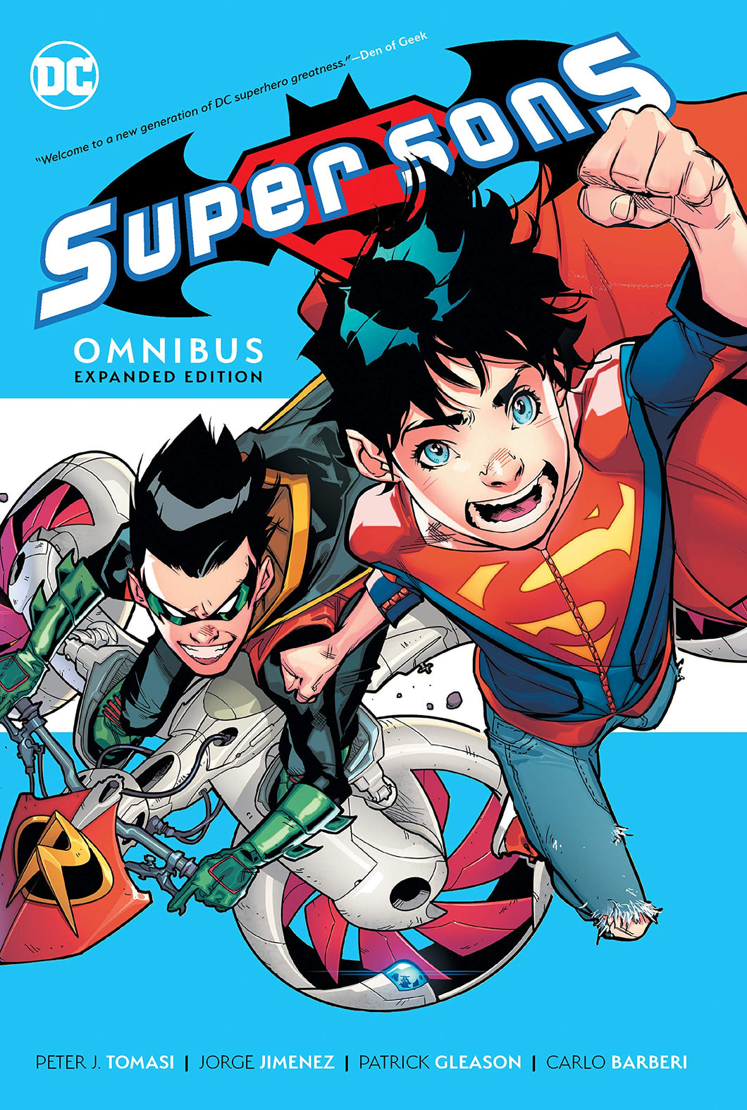 Super Sons Omnibus Expanded Edition HC (2020)