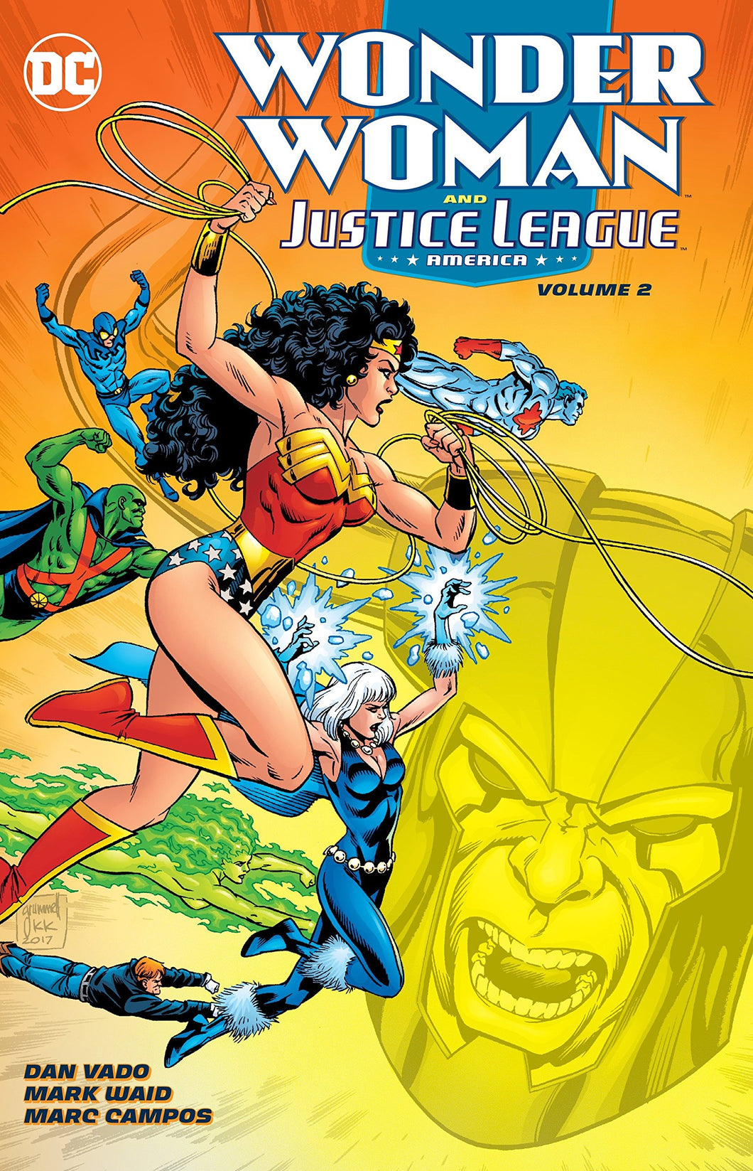 Wonder Woman & the Justice League America Vol. 2 HC