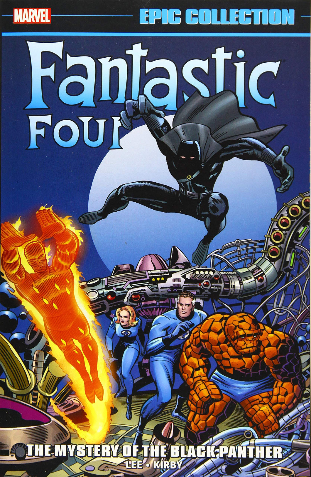 Fantastic Four Epic Collection Vol 4: The Mystery Of The Black Panther TP *OOP*