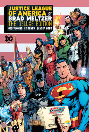 Justice League of America by Brad Meltzer: The Deluxe Edition HC