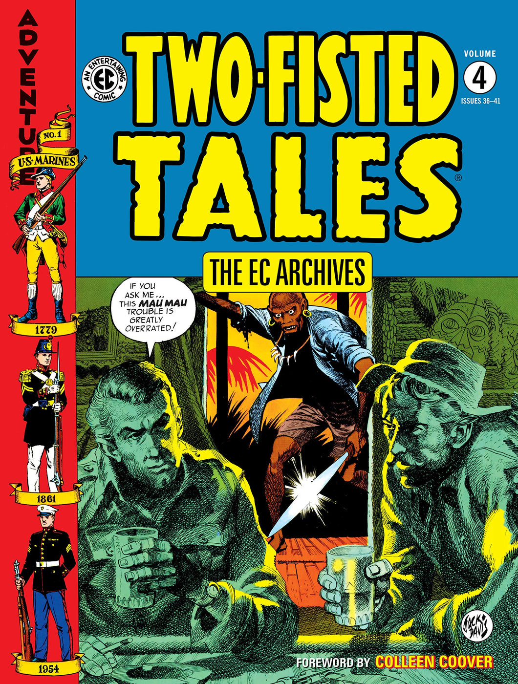 The EC Archives: Two-Fisted Tales Volume 4 HC
