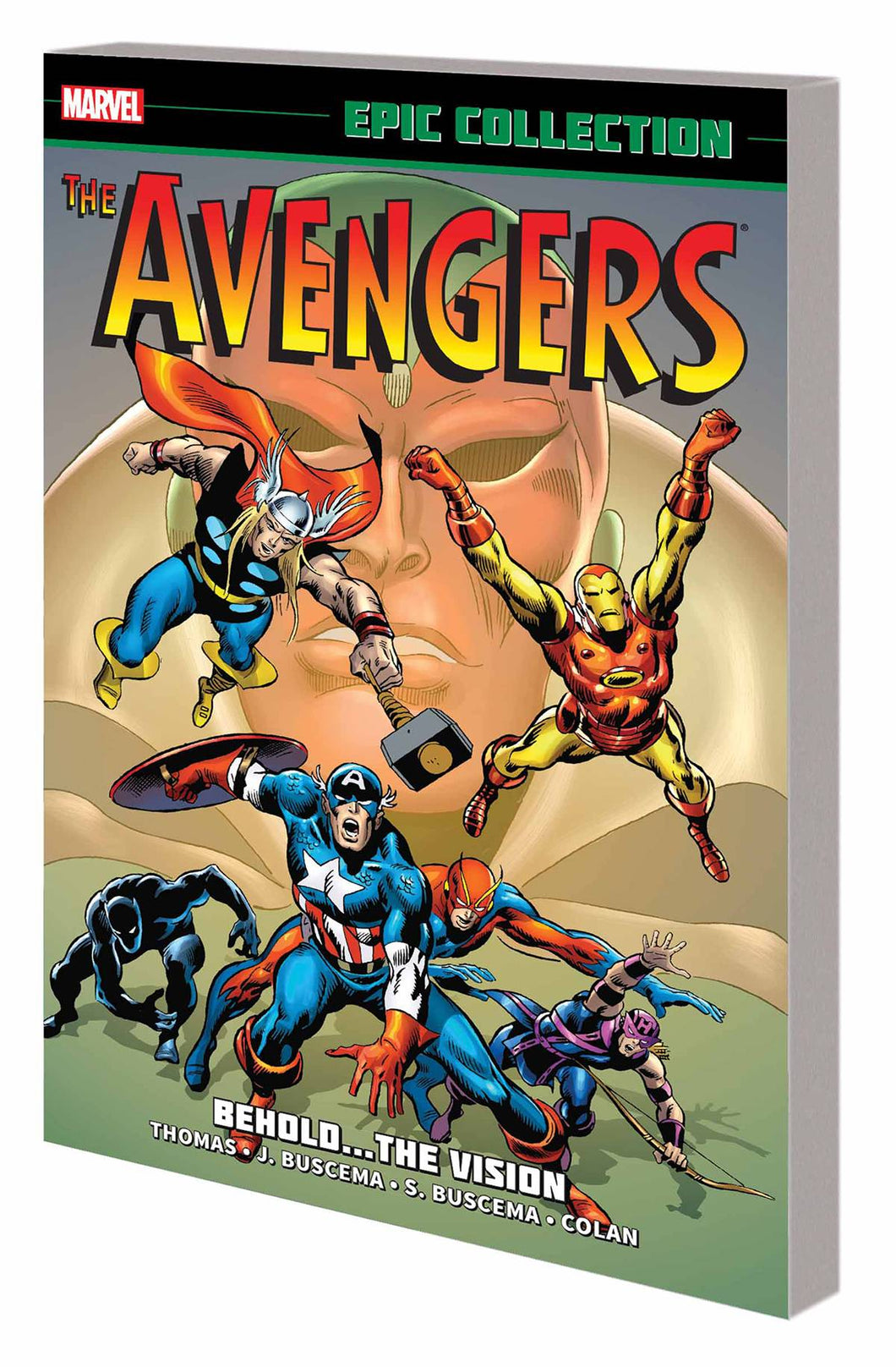 Avengers Epic Collection Vol. 4: Behold… The Vision TP *OOP*