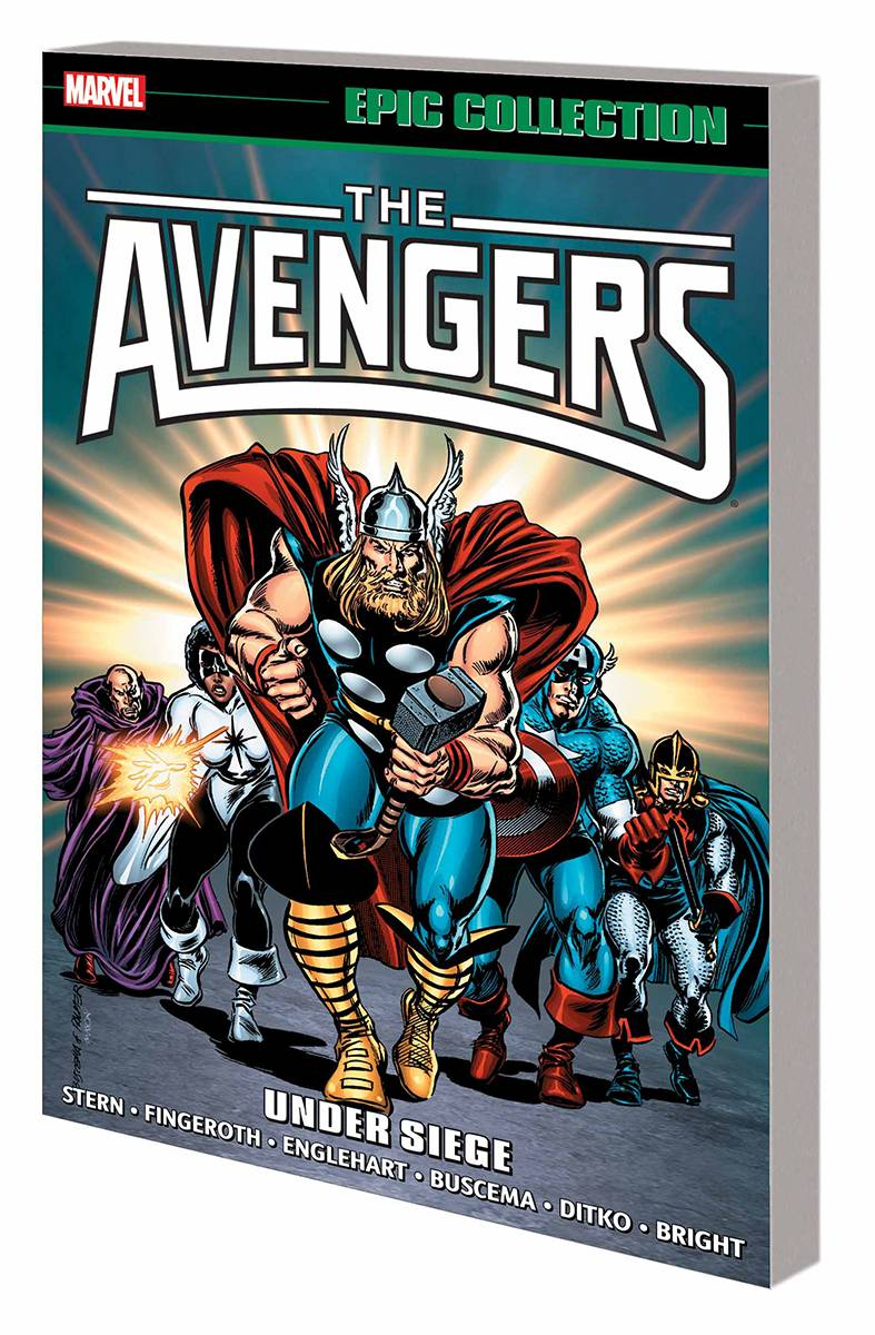 Avengers Epic Collection Vol. 16: Under Siege TP