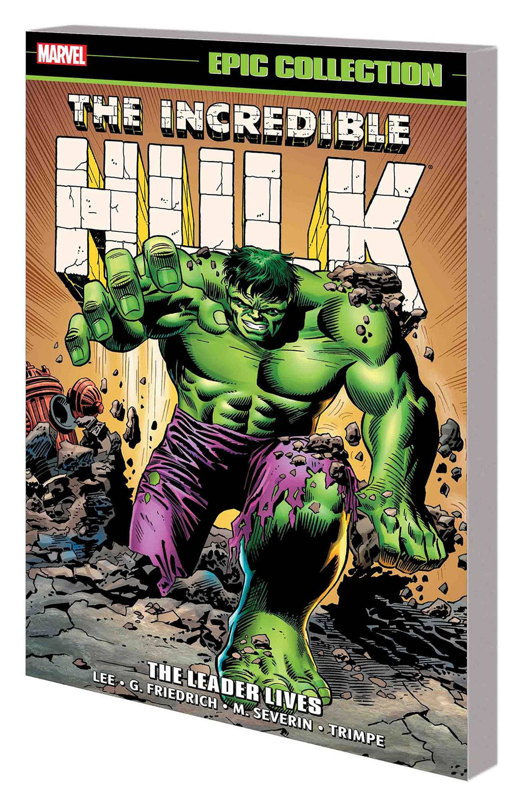 Incredible Hulk Epic Collection Vol 3: Leader Lives TP