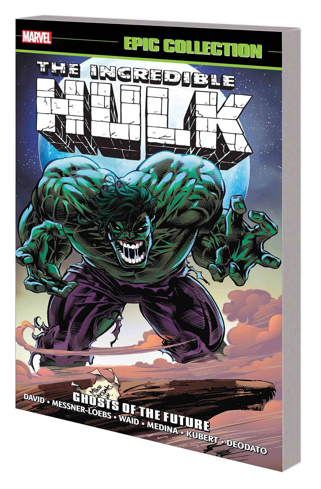 Incredible Hulk Epic Collection Vol. 22 TP: Ghosts of the Future *OOP*