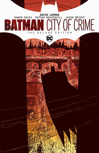 BATMAN CITY OF CRIME DELUXE EDITION HC