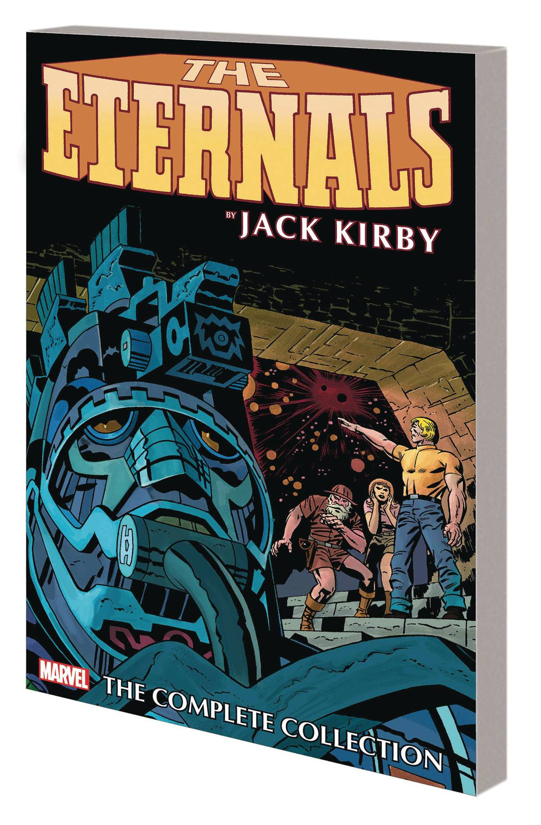 ETERNALS BY KIRBY COMPLETE COLLECTION TP REMASTER CVR