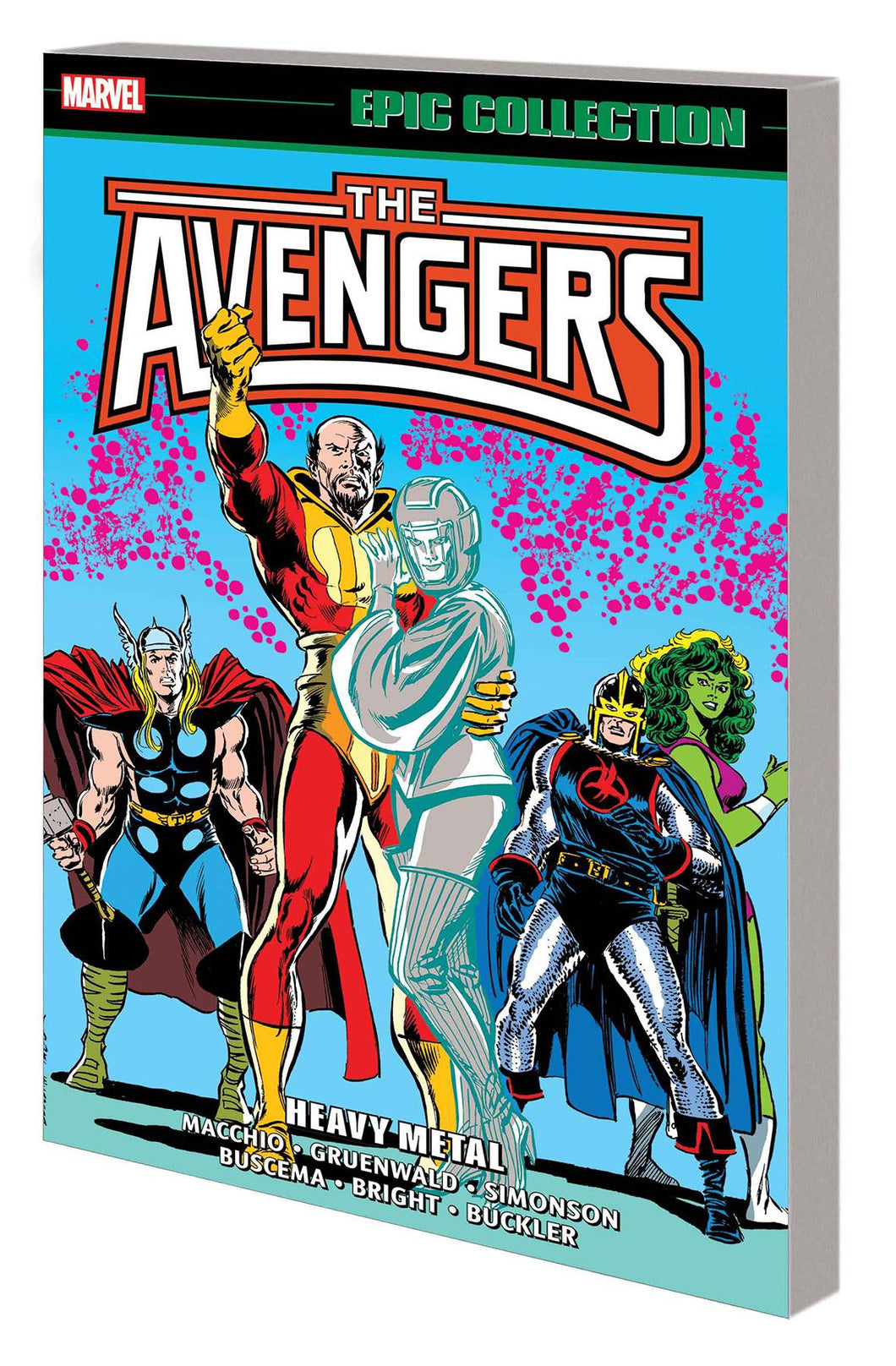 Avengers Epic Collection Vol. 18: Heavy Metal TP