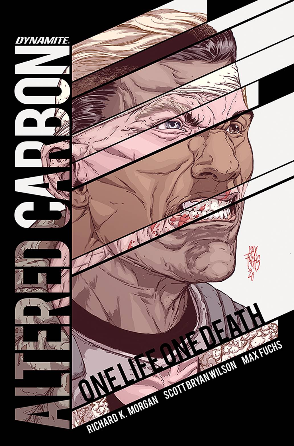 ALTERED CARBON ONE LIFE ONE DEATH SGN ED HC *PRE-ORDER*