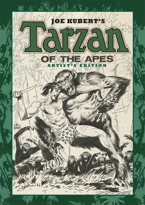 Joe Kubert's Tarzan of The Apes Artist's Edition HC