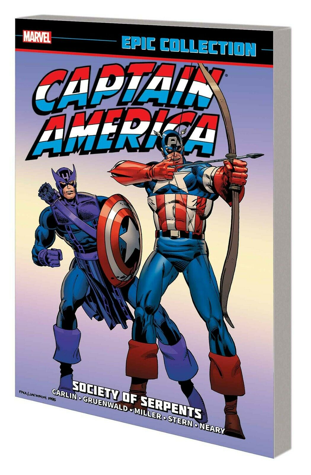 Captain America Epic Collection Vol. 12: Society of Serpents TP *OOP*