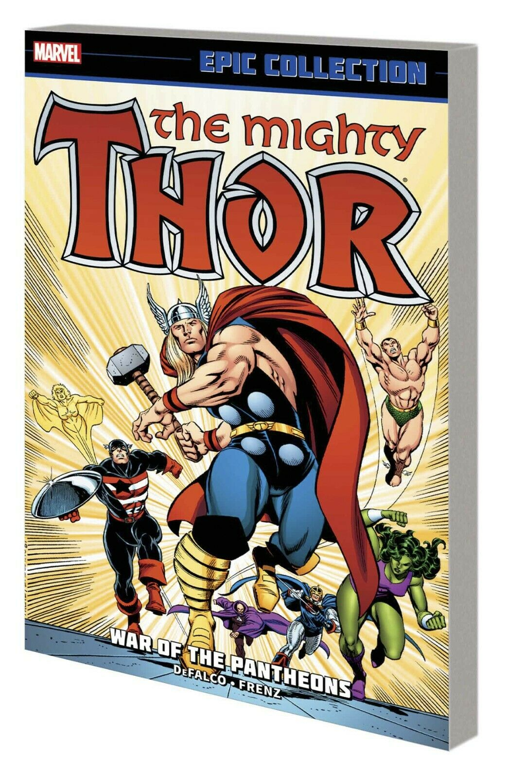 Thor Epic Collection Vol. 16: War of the Pantheons TP