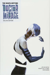 The Death-Defying Dr. Mirage Deluxe Book 1 HC