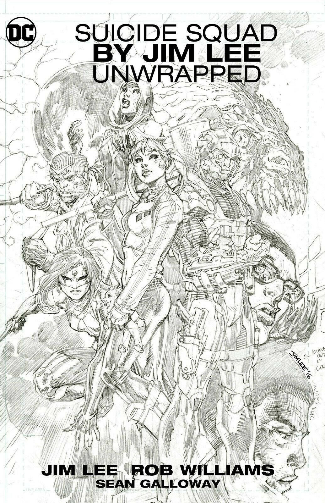 Suicide Squad by Jim Lee Unwrapped HC