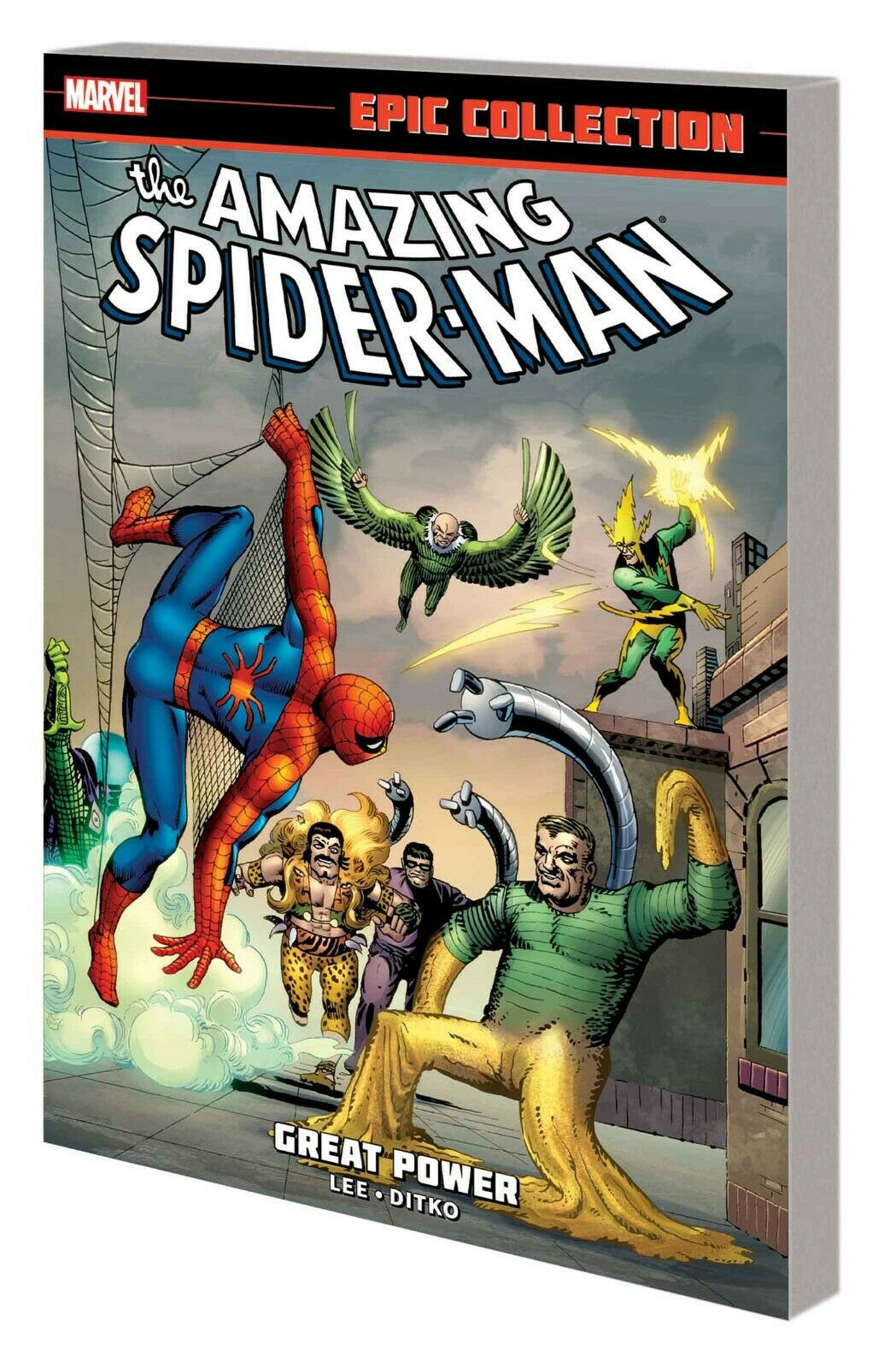 Amazing Spider-Man Epic Collection Vol 1: Great Power TP *OOP*