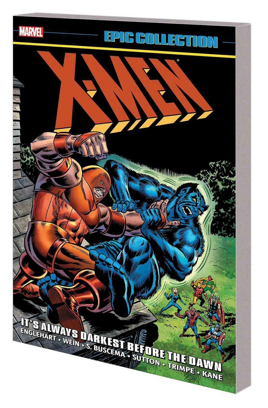 X-Men Epic Collection Vol 4 It's Always Darkest Before Dawn TP *OOP*
