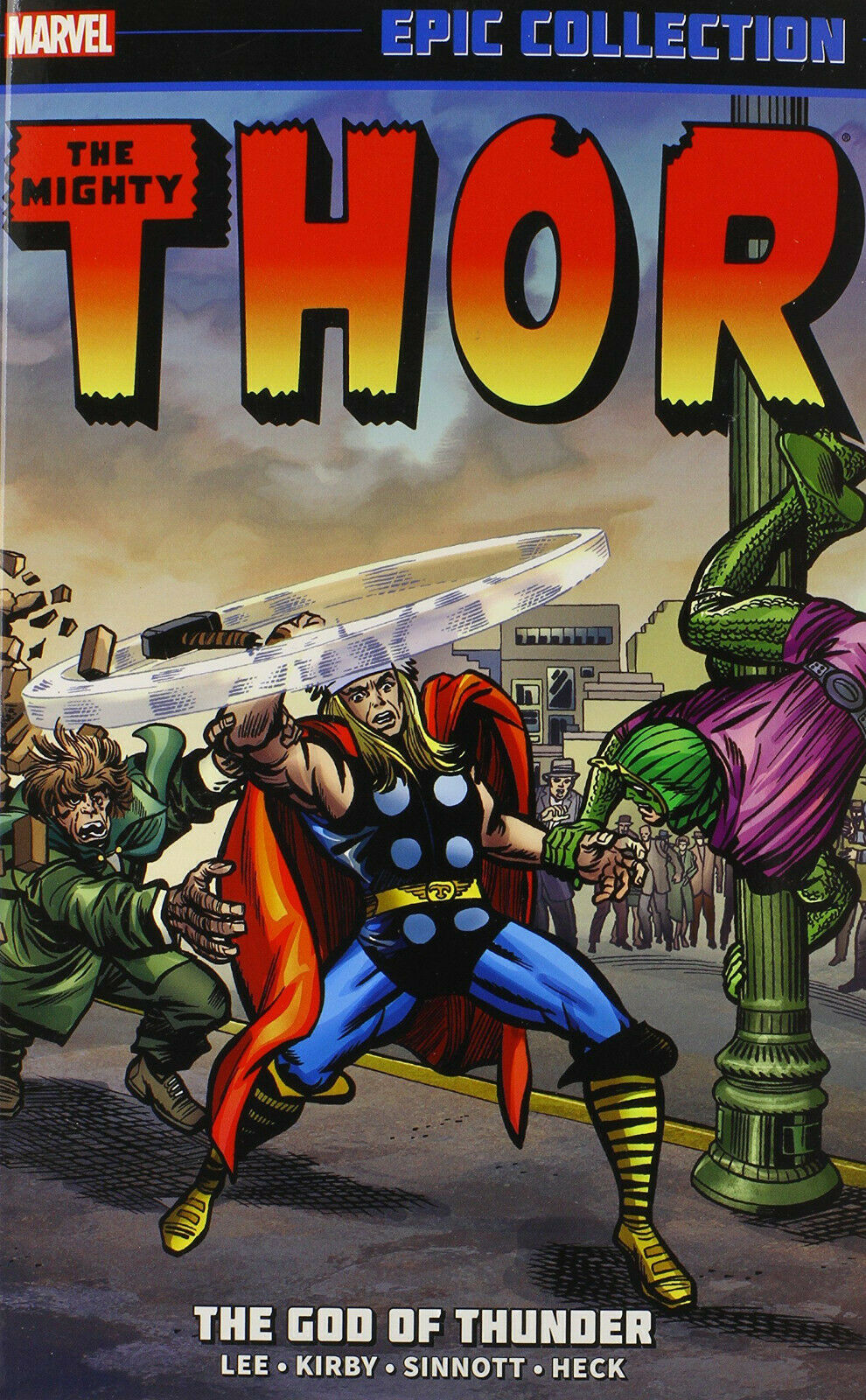 Thor Epic Collection Vol. 1: The God of Thunder TP *OOP*