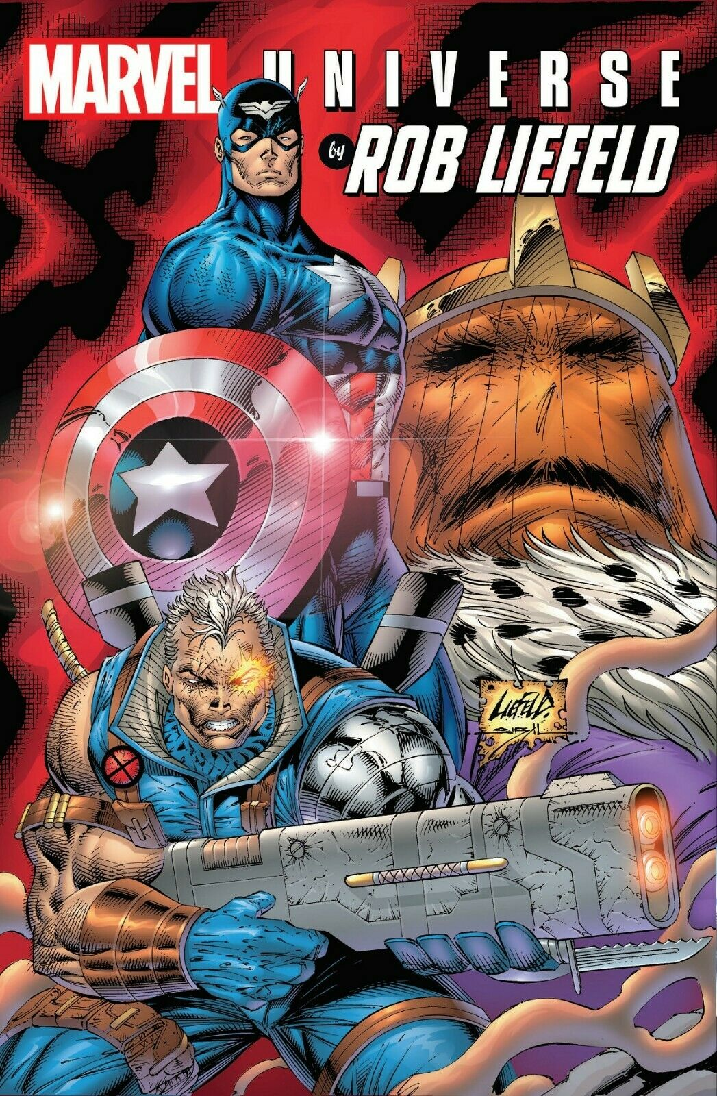 Marvel Universe By Rob Liefeld Omnibus