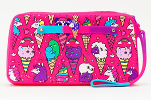 Unicorn Ice Cream Wristlet