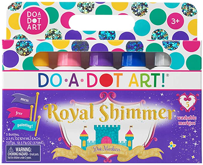 Do-A-Dot Metallic Shimmer Markers 5 Pack
