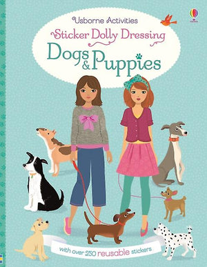 Sticker Dolly Dressing Dogs &Puppies
