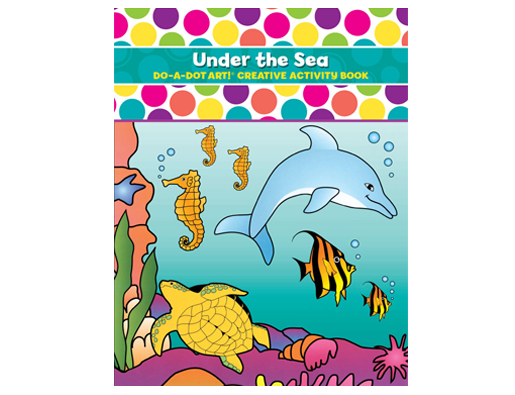 Do A Dot Under The Sea Coloring Book