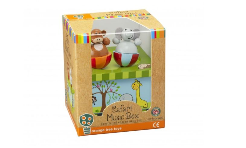 Safari Music Box