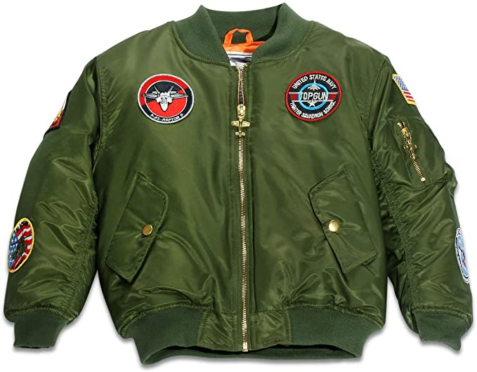 Green MA-1 Flight Bomber Jacket