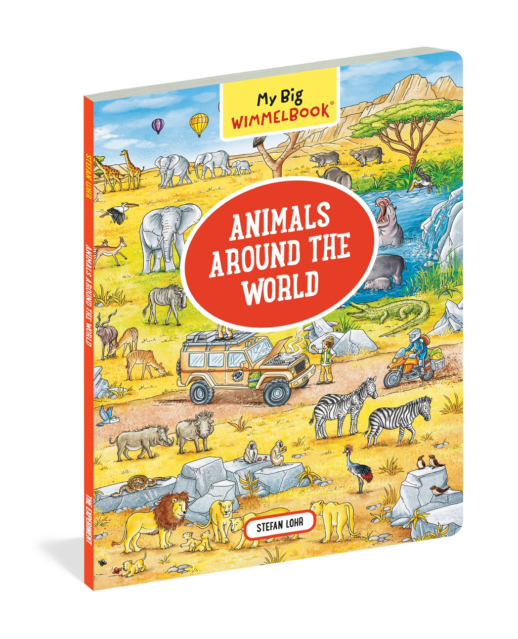 My Big Wimmelbook- Animals Around the World