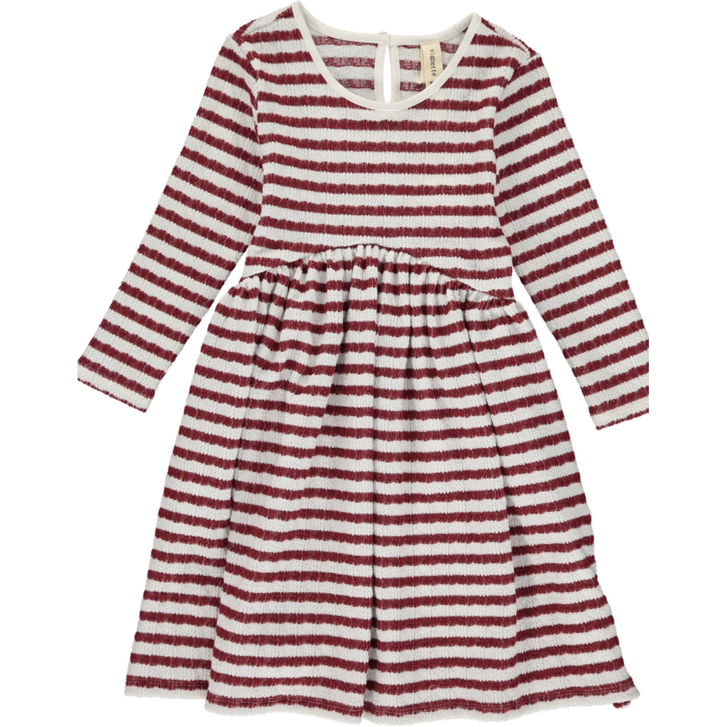 Charlie Dress Burgundy