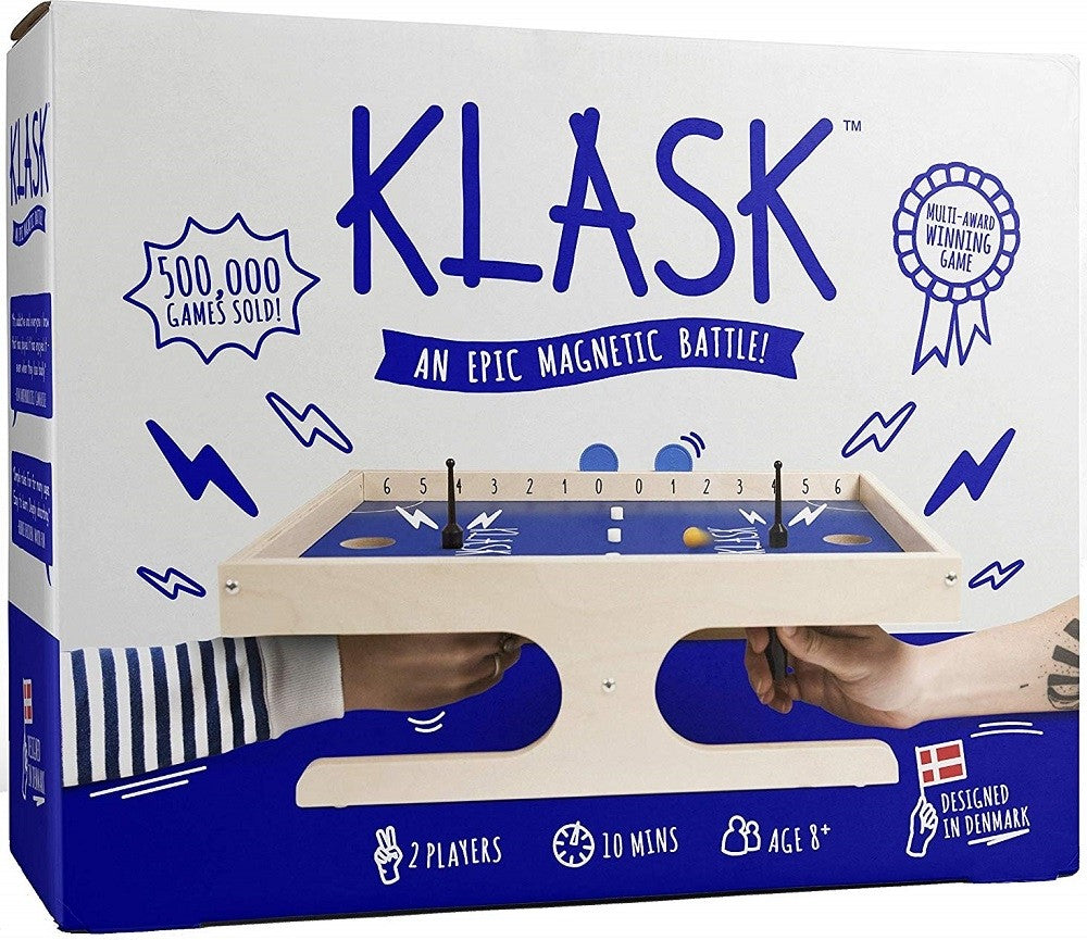 Klask: The Magnetic Game of Skill