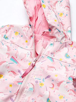 Pink Unicorn Raincoat
