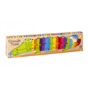 Crocodile Alphabet Puzzle