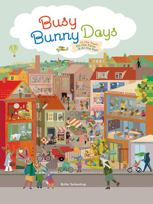 Busy Bunny Days Book