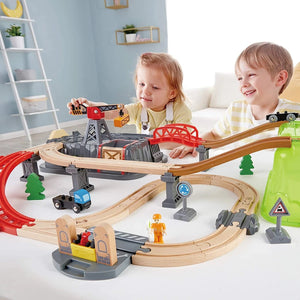 Railway Train Bucket Builder Set