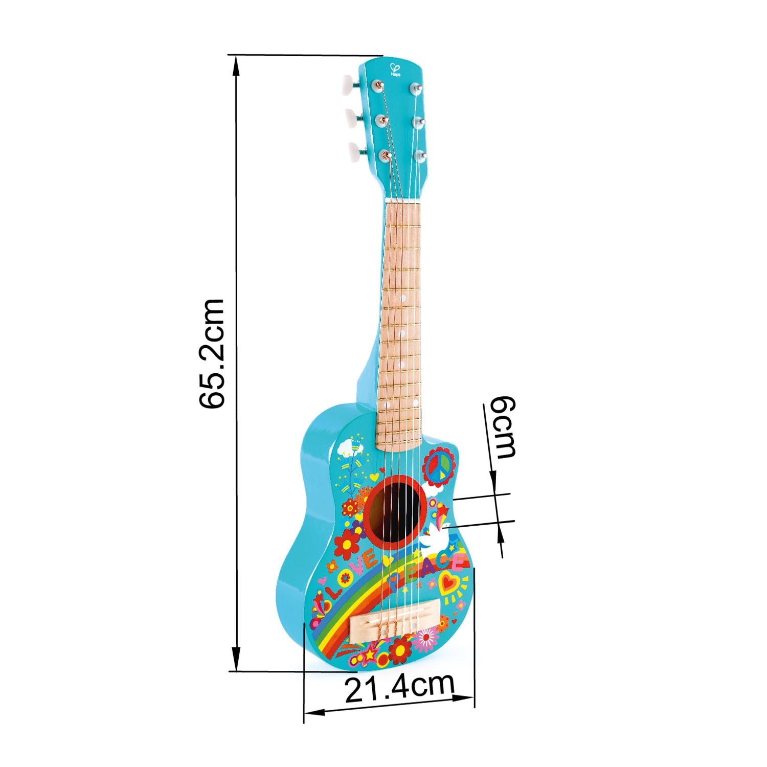 Flower Power Guitar