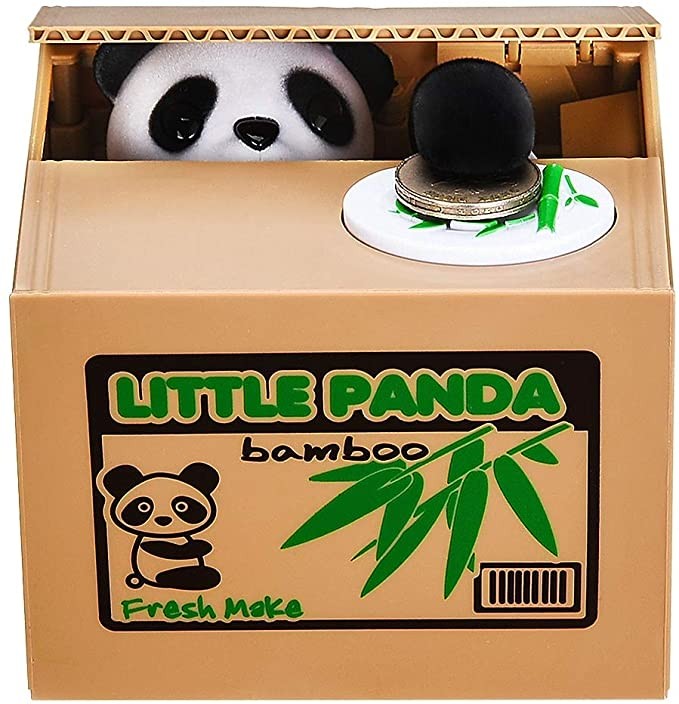 Motorized Panda Bank