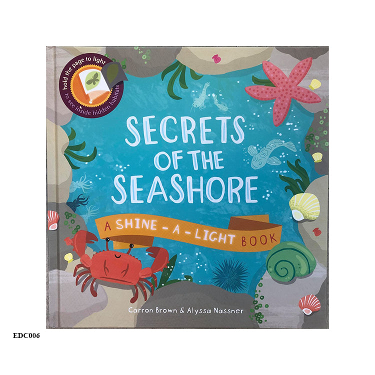 SECRET OF THE SEASHORE - Shine-a-Light Book