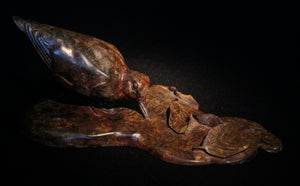 'Woodcock in the Beeches' - Limited Edition Bronze Sculpture by Owen Williams