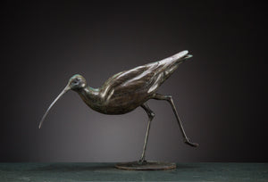 'Curlew' Limited Edition Bronze Sculpture by Ian Greensitt
