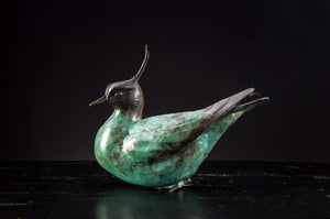 'Lapwing' - Limited Edition Bronze sculpture by Ian Greensitt