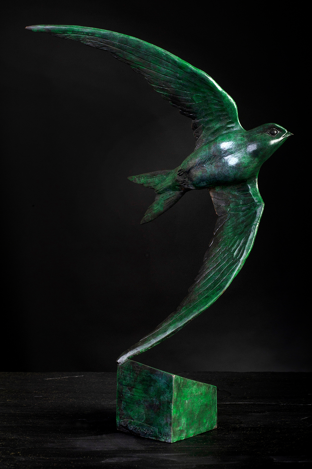 'Swift II' Limited Edition Bronze Sculpture by Ian Greensitt